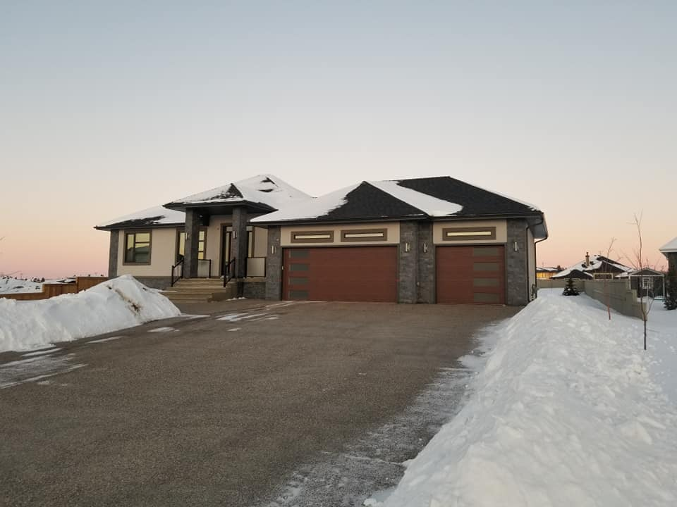stucco house in st albert