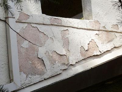 stucco water damage edmonton