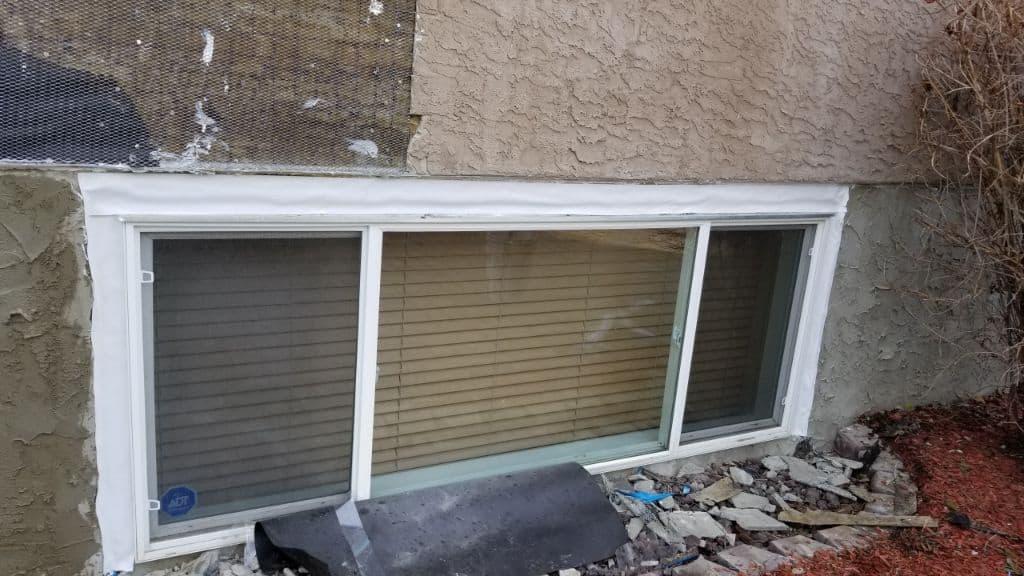 stucco repair bonnyville