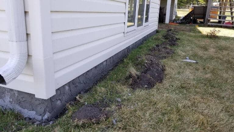 parging repair whitecourt