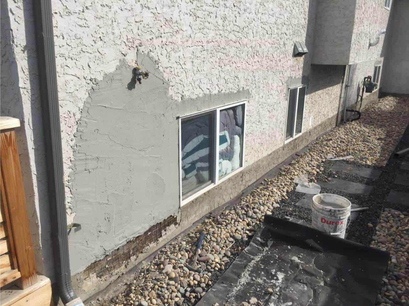 stucco repair waterproof