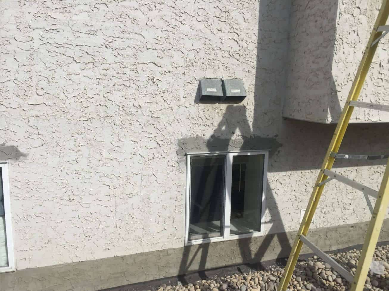 how to fix stucco