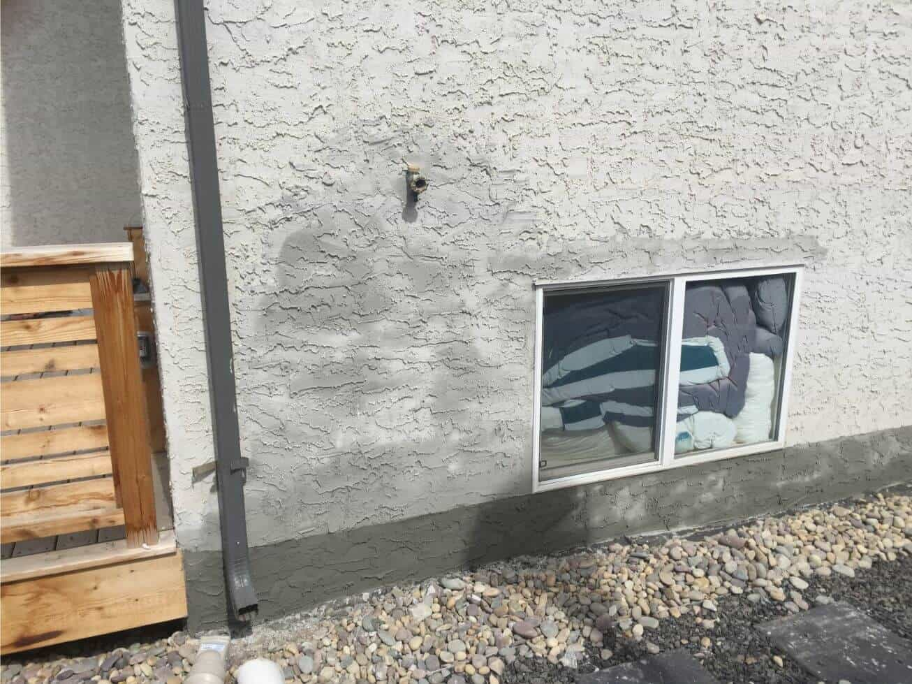how to paint stucco