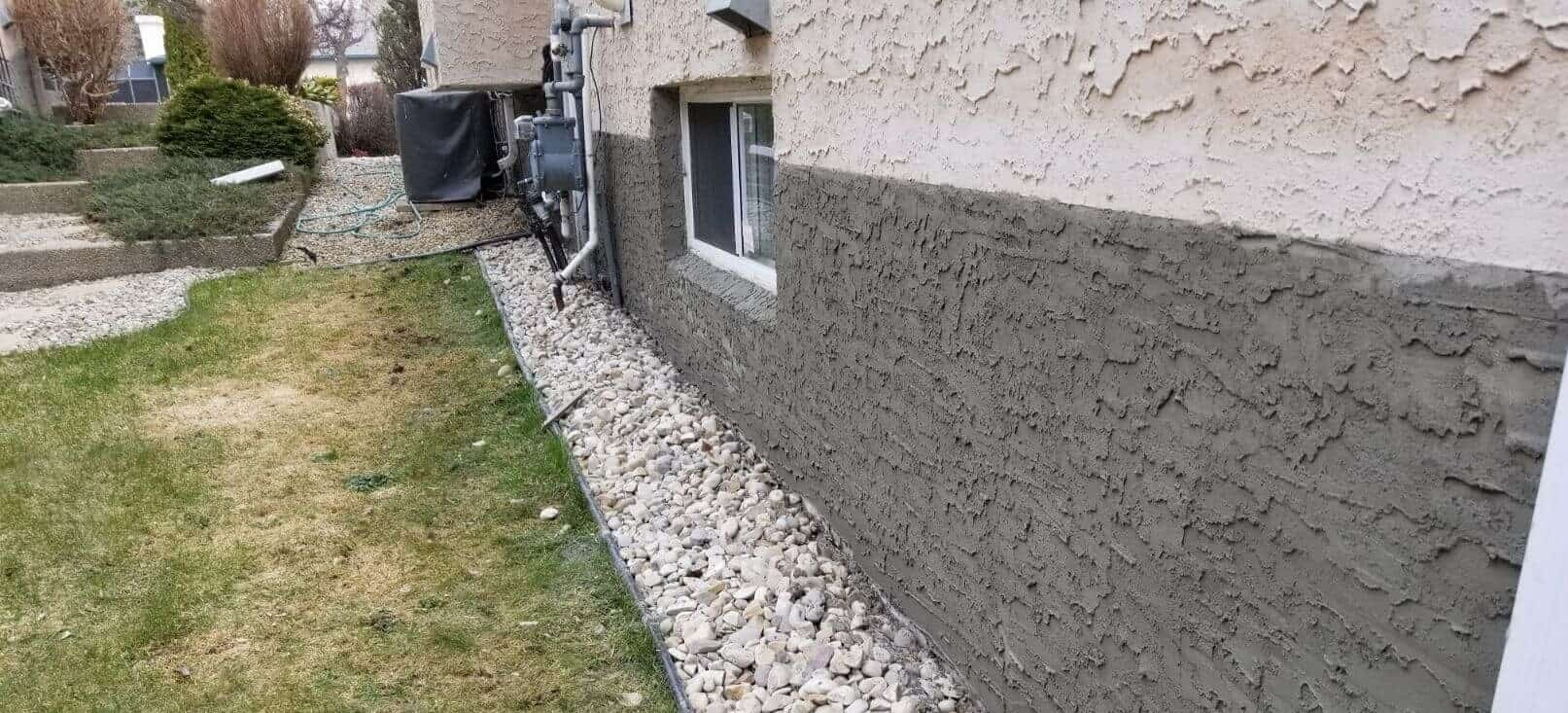 stucco & parging repair rocky mountain house