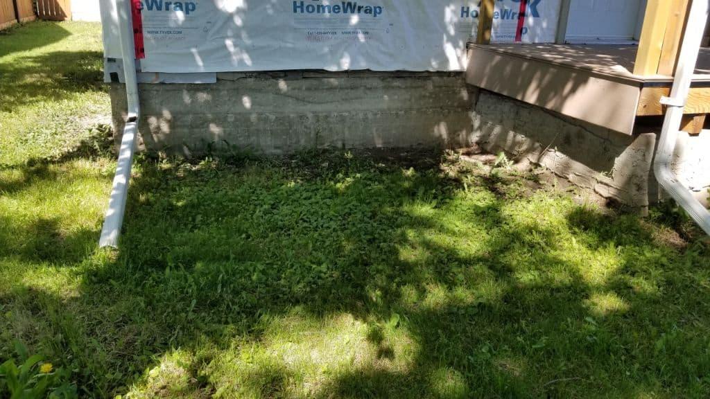 old concrete repair