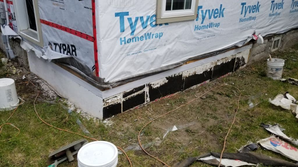 repair of parging