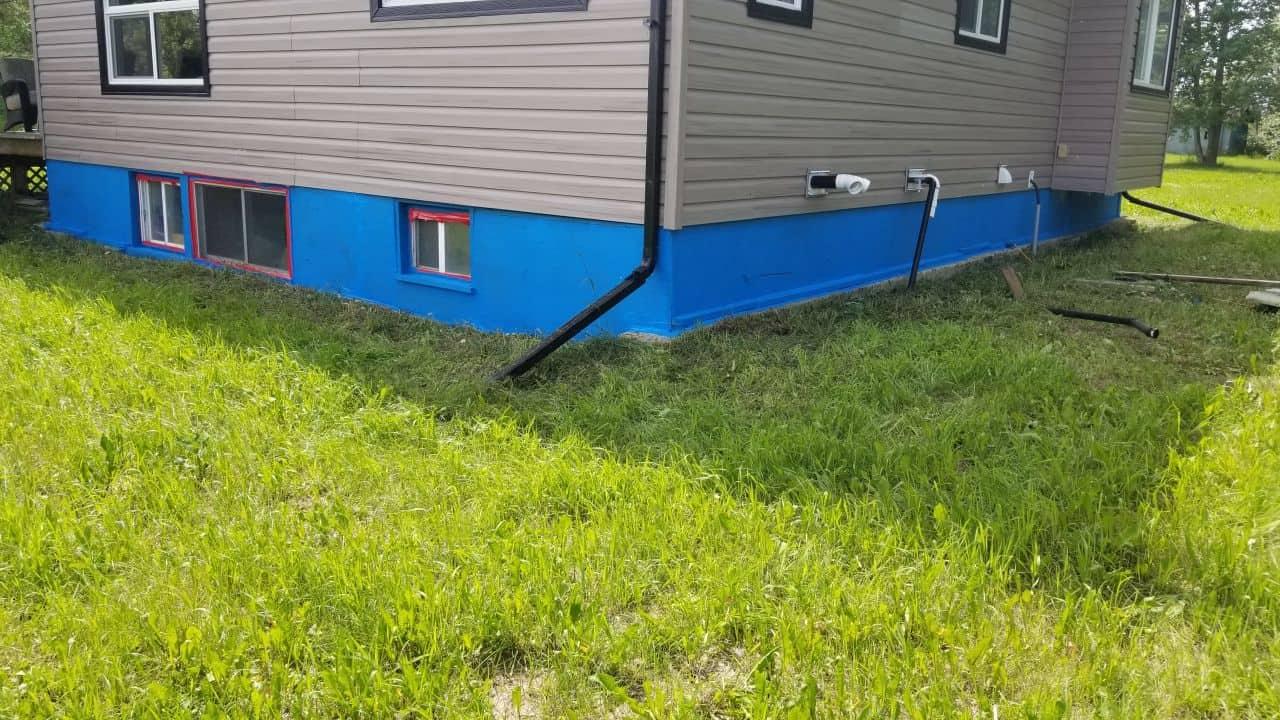 foundation walls waterproof