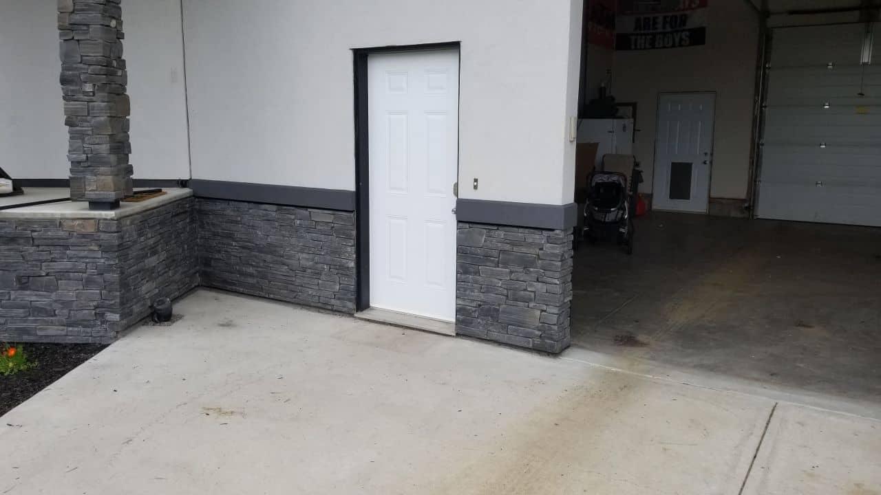 stucco trim design