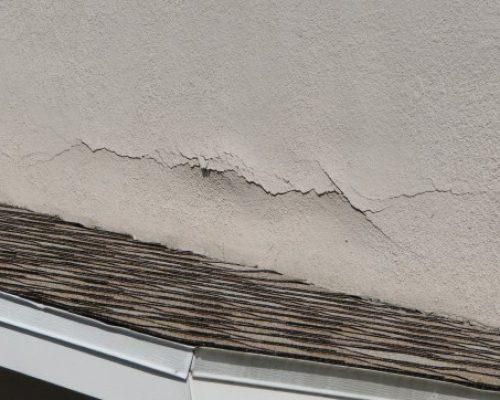 exterior wall stucco repair blister bubbling edmonton