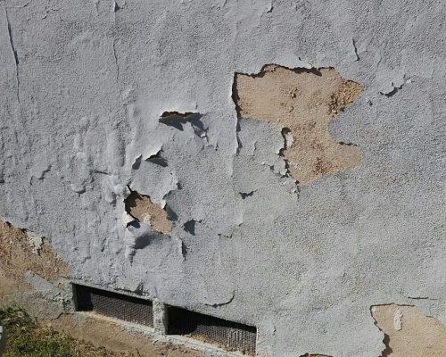 stucco blister bubble wave look repair edmonton