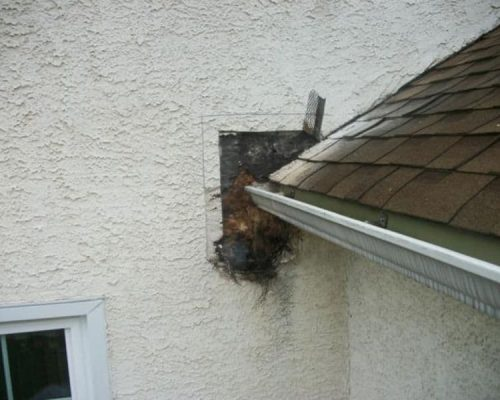 wrong flashing installation caused stucco water damage